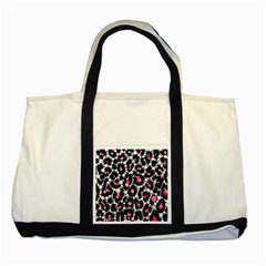 Pink Cheetah Bling Two Toned Tote Bag by OCDesignss