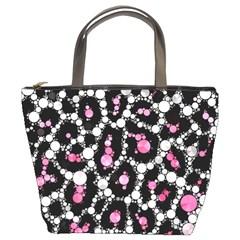 Pink Cheetah Bling Bucket Handbag by OCDesignss