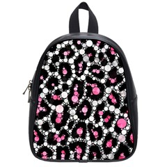Pink Cheetah Bling School Bag (small) by OCDesignss
