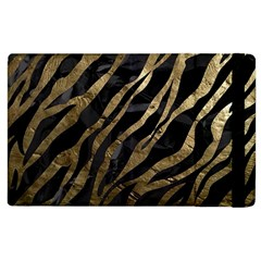 Gold Zebra  Apple Ipad 2 Flip Case by OCDesignss