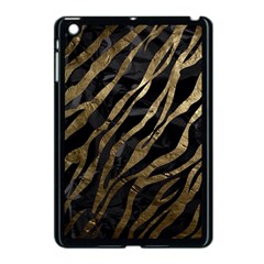 Gold Zebra  Apple Ipad Mini Case (black) by OCDesignss