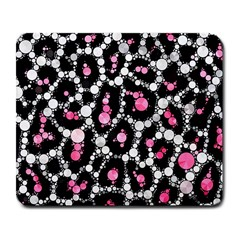 Pink Cheetah Bling Large Mouse Pad (rectangle) by OCDesignss