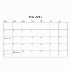 Ant Calendar By Doreen Carrington   Wall Calendar 8 5  X 6    V96mdna294ii   Www Artscow Com May 2015