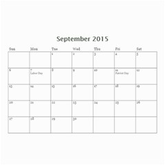 Ant Calendar By Doreen Carrington   Wall Calendar 8 5  X 6    V96mdna294ii   Www Artscow Com Sep 2015
