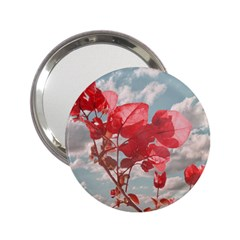 Flowers In The Sky Handbag Mirror (2.25 ) by dflcprints