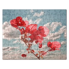 Flowers In The Sky Jigsaw Puzzle (rectangle) by dflcprints