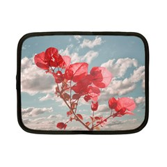 Flowers In The Sky Netbook Sleeve (small) by dflcprints