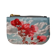 Flowers In The Sky Coin Change Purse by dflcprints