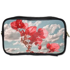 Flowers In The Sky Travel Toiletry Bag (one Side) by dflcprints