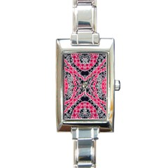 Black Widow  Rectangular Italian Charm Watch by OCDesignss