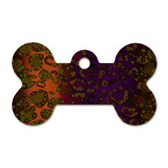 Classy Cheetah Dog Tag Bone (two Sided) by OCDesignss