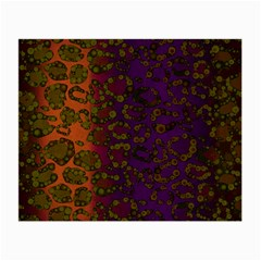Classy Cheetah Glasses Cloth (small, Two Sided) by OCDesignss