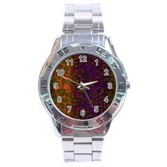 Classy Cheetah Stainless Steel Watch by OCDesignss