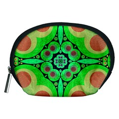 Neon Green  Accessory Pouch (medium) by OCDesignss