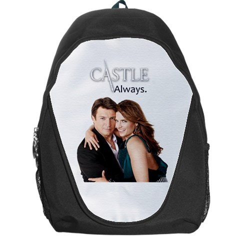 #castle Bag By Ilana Hakim   Backpack Bag   3301lpiwr8vk   Www Artscow Com Front