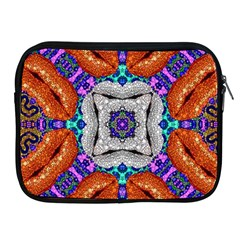 Crazy Fashion Freak Apple Ipad Zippered Sleeve by OCDesignss