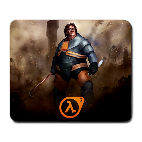 Gaben Mousepad By Rcm   Large Mousepad   Ry4v40r3uhg3   Www Artscow Com Front