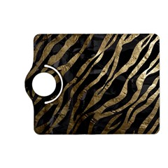 Gold Zebra  Kindle Fire Hd (2013) Flip 360 Case by OCDesignss