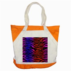 Rainbow Zebra  Accent Tote Bag by OCDesignss