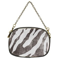 Dirty Zebra  Chain Purse (two Sided)  by OCDesignss