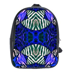 The Funky Zebra  School Bag (xl) by OCDesignss