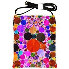 Bling Polka Dot Shoulder Sling Bag by OCDesignss