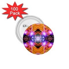 Abstract Flower 1 75  Button (100 Pack) by icarusismartdesigns