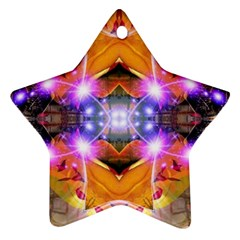 Abstract Flower Star Ornament (two Sides) by icarusismartdesigns