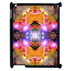 Abstract Flower Apple Ipad 2 Case (black) by icarusismartdesigns
