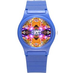 Abstract Flower Plastic Sport Watch (small) by icarusismartdesigns