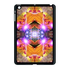 Abstract Flower Apple Ipad Mini Case (black) by icarusismartdesigns