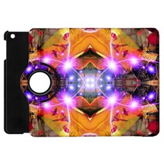 Abstract Flower Apple Ipad Mini Flip 360 Case by icarusismartdesigns