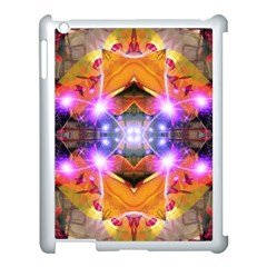 Abstract Flower Apple Ipad 3/4 Case (white) by icarusismartdesigns