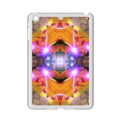 Abstract Flower Apple Ipad Mini 2 Case (white) by icarusismartdesigns