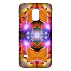 Abstract Flower Samsung Galaxy S5 Mini Hardshell Case