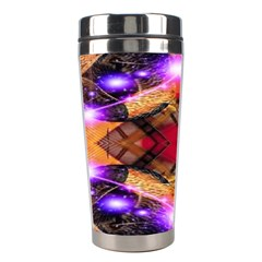Third Eye Stainless Steel Travel Tumbler by icarusismartdesigns