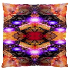 Third Eye Large Flano Cushion Case (one Side) by icarusismartdesigns