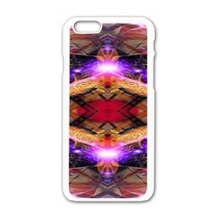 Third Eye Apple Iphone 6 White Enamel Case by icarusismartdesigns