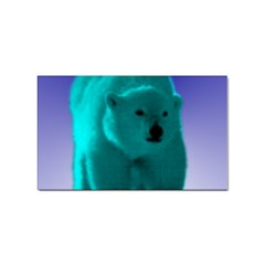 Polar Bear Sticker Rectangular (100 pack) from ArtsNow.com Front