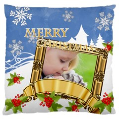 Xmas By Joely   Standard Flano Cushion Case (two Sides)   Kalyekxeal7o   Www Artscow Com Back