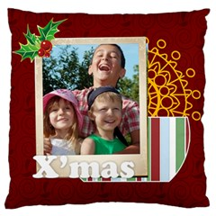 Xmas By Joely   Standard Flano Cushion Case (two Sides)   4j84eazw7tvn   Www Artscow Com Back