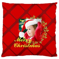 Xmas By Xmas   Large Flano Cushion Case (two Sides)   K131x672wjsr   Www Artscow Com Front