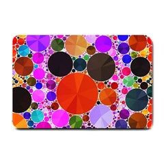 Bling Polka Dot Small Door Mat by OCDesignss