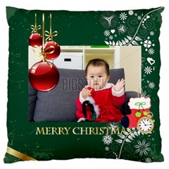 Xmas By Xmas   Large Flano Cushion Case (two Sides)   6wsh9x1255p0   Www Artscow Com Front