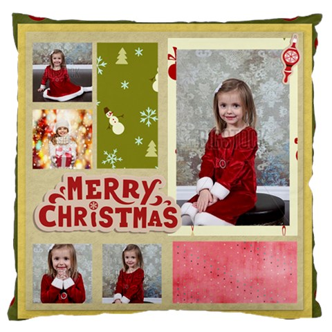 Xmas By Xmas   Standard Flano Cushion Case (one Side)   5me2mv998vwb   Www Artscow Com Front