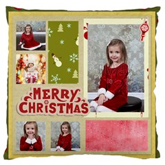 Xmas By Xmas   Large Flano Cushion Case (two Sides)   Ht3o5st2kosf   Www Artscow Com Back