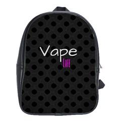 Vape Life Twirlz School Bag (xl) by OCDesignss