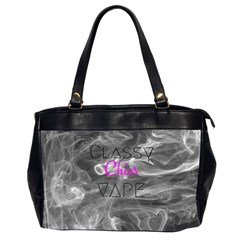 Classy Chics Vape  Oversize Office Handbag (two Sides) by OCDesignss