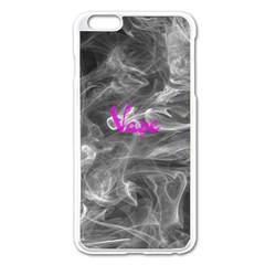 Vape  Apple Iphone 6 Plus Enamel White Case by OCDesignss