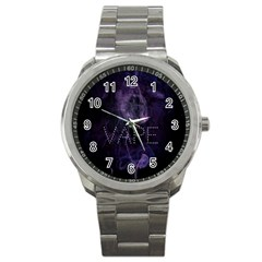 Vape Purple Smoke  Sport Metal Watch by OCDesignss